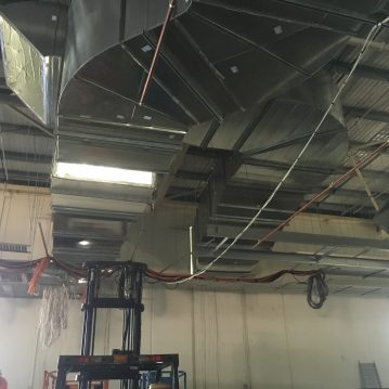 Commercial air conditioning project